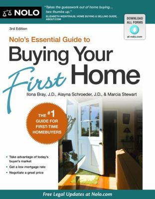 Nolo's Essential Guide to Buying Your First Home  4th 2012 edition cover