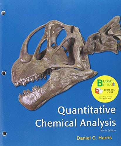 Quantitative Chemical Analysis:   2015 edition cover