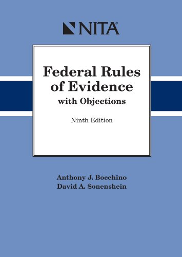 FEDERAL RULES OF EVIDENCE W/OB N/A edition cover