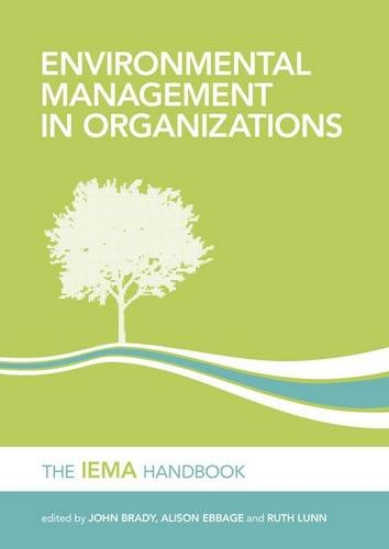 Environmental Management in Organizations The IEMA Handbook 2nd 2011 (Revised) edition cover