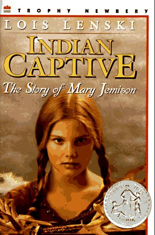 Indian Captive The Story of Mary Jemison  1969 edition cover