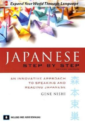 Japanese Step by Step  2nd 2010 edition cover