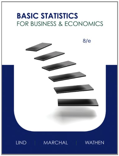 Basic Statistics for Business and Economics  8th 2013 edition cover