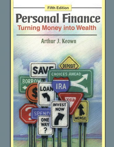 Personal Finance Turning Money into Wealth 5th 2010 edition cover