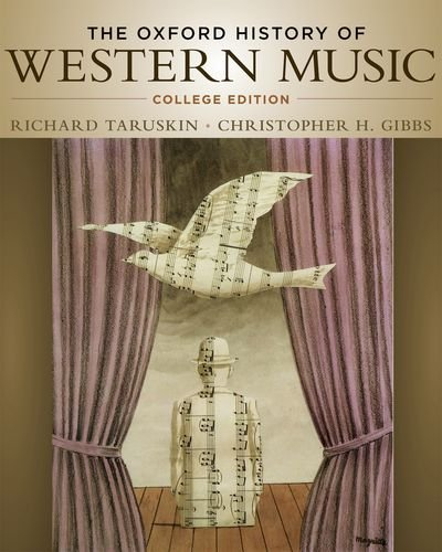 Oxford History of Western Music   2012 edition cover