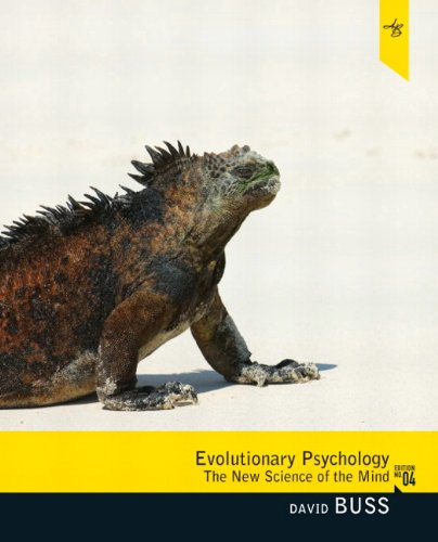 Evolutionary Psychology The New Science of the Mind 4th 2012 edition cover