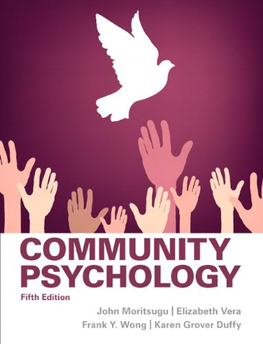Community Psychology  5th 2014 (Revised) edition cover