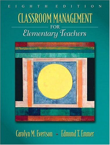 Classroom Management for Elementary Teachers  8th 2009 edition cover