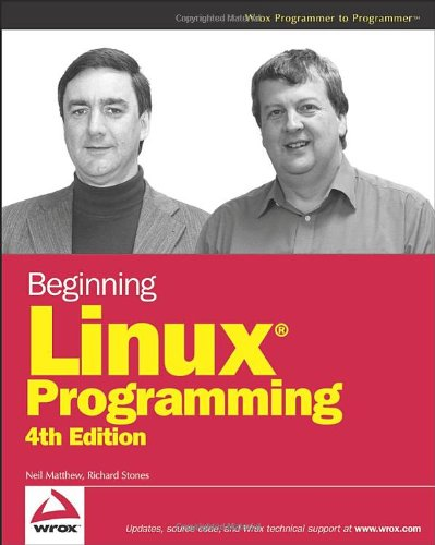 Beginning Linux Programming  4th 2008 edition cover