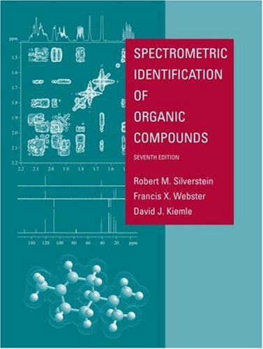 Spectrometric Identification of Organic Compounds  7th 2005 (Revised) edition cover