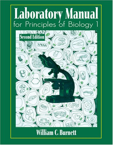 Laboratory Manual for Principles of Biology 1  2nd 2003 (Revised) 9780757503627 Front Cover