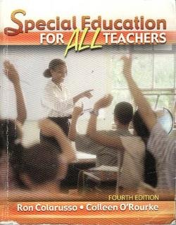Special Education for All Teachers  4th 2007 (Revised) edition cover