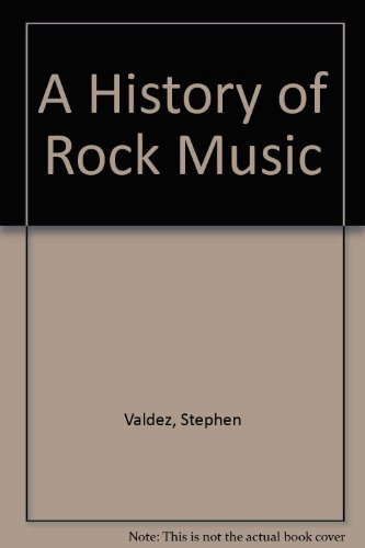 History of Rock Music  5th 2010 (Revised) 9780757574627 Front Cover