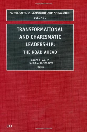 Transformational and Charismatic Leadership The Road Ahead  2002 9780762309627 Front Cover