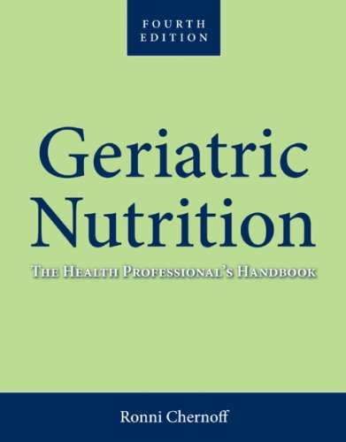 Geriatric Nutrition  4th 2014 (Revised) edition cover