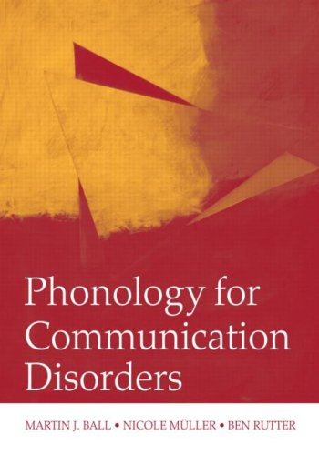 Phonology for Communication Disorders   2010 edition cover