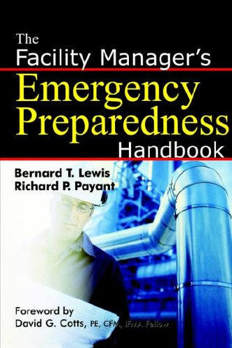 Facility Manager's Emergency Preparedness Handbook  N/A edition cover