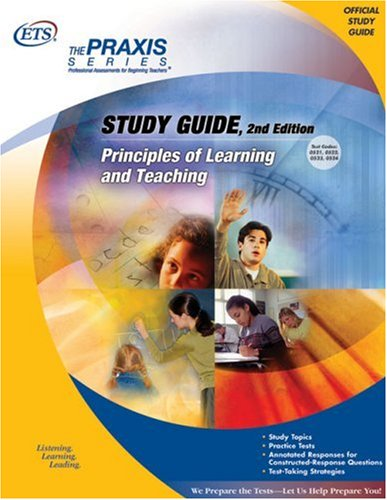 Principles of Learning and Teaching Study Guide  2nd 2003 9780886852627 Front Cover
