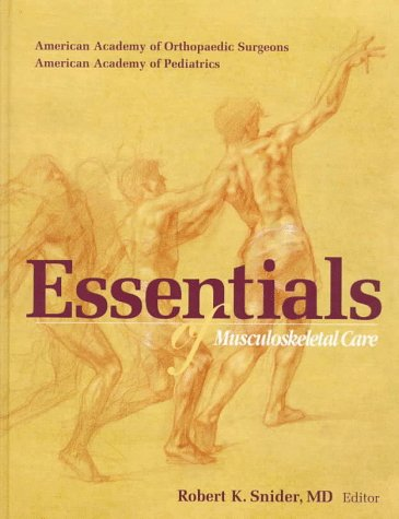 Essentials of Musculoskeletal Care  N/A edition cover