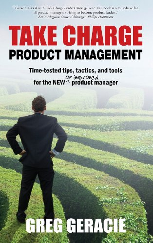 TAKE CHARGE PRODUCT MANAGEMENT          N/A 9780983111627 Front Cover