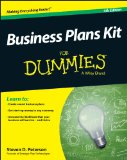 Business Plans Kit for Dummies  4th 2014 edition cover