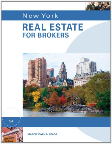 New York Real Estate for Brokers  5th 2012 edition cover