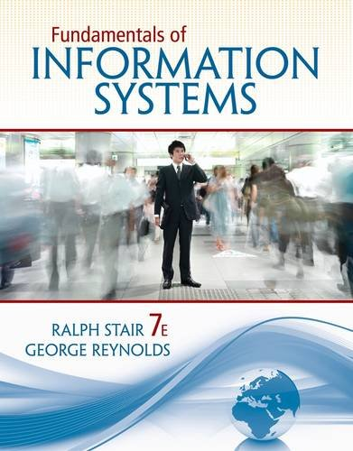 Fundamentals of Information Systems:   2013 edition cover