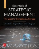 Essentials of Strategic Management: the Quest for Competitive Advantage with Connect Plus  4th 2015 edition cover