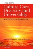 Leininger's Culture Care Diversity and Universality  3rd 2015 edition cover