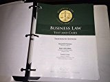 Business Law - Text and Cases  13th 2015 edition cover