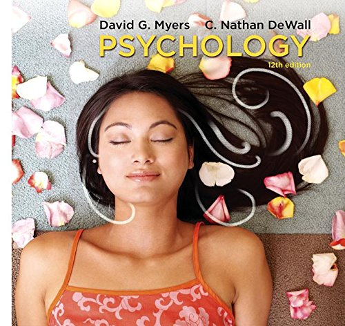 Cover art for Psychology, 12th Edition