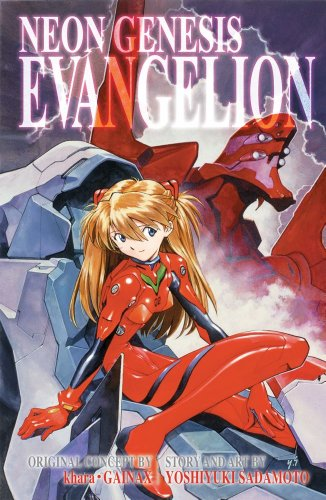 Neon Genesis Evangelion 3-in-1 Edition, Vol. 3  3rd 2013 edition cover