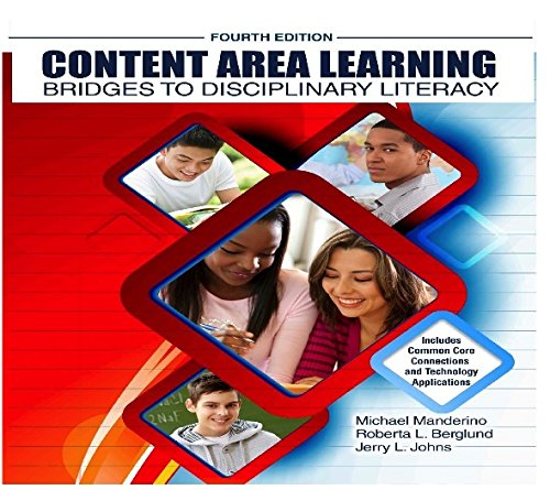 Content Area Learning Bridges to Disciplinary Literacy 4th (Revised) 9781465241627 Front Cover