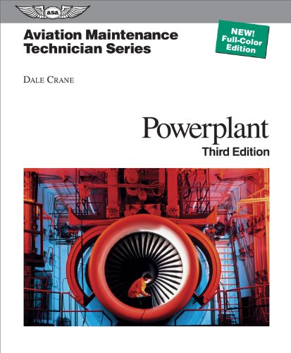 Aviation Maintenance Technician - Powerplant  3rd 2012 edition cover