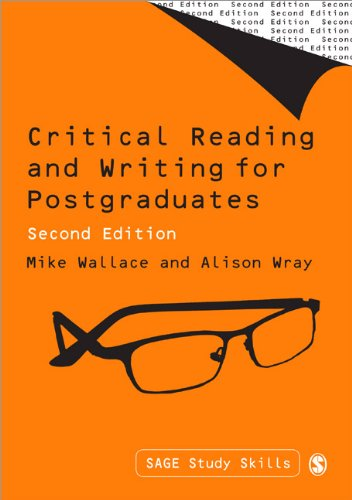 Critical Reading and Writing for Postgraduates  2nd 2011 edition cover
