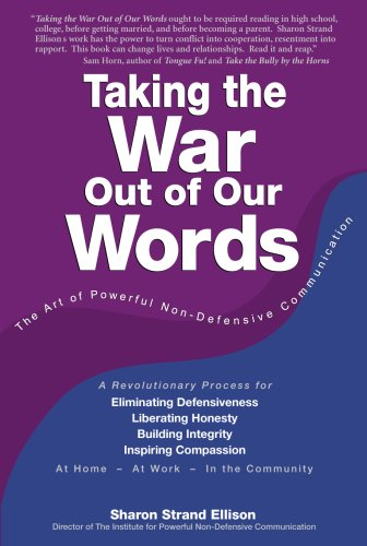 Taking the War Out of Our Words  N/A edition cover
