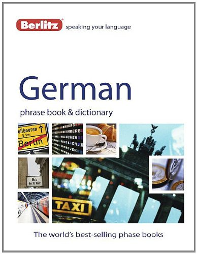 German - Berlitz Phrase Book and Dictionary  4th 2012 edition cover