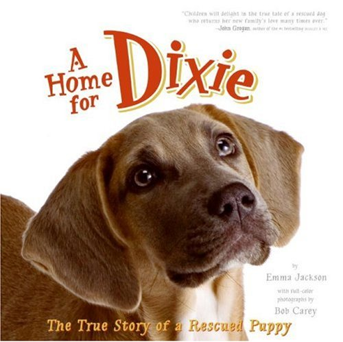 Home for Dixie The True Story of a Rescued Puppy  2008 9780061449628 Front Cover