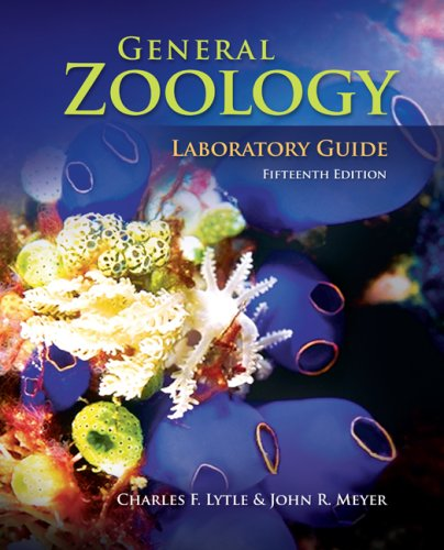 General Zoology  15th 2009 (Lab Manual) 9780073051628 Front Cover