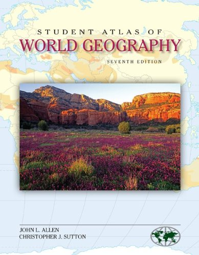 Student Atlas of World Geography  7th 2012 9780073527628 Front Cover