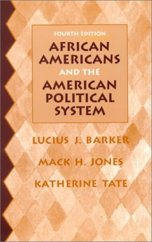 African Americans and the American Political System  4th 1999 edition cover
