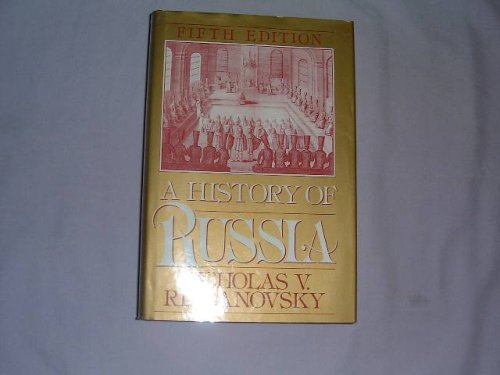 History of Russia  5th 1993 (Revised) edition cover
