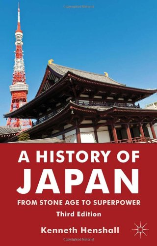 History of Japan From Stone Age to Superpower 3rd 2012 (Revised) edition cover