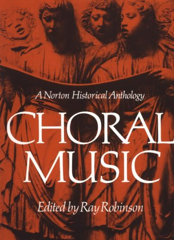 Choral Music Norton Historical Anthology N/A edition cover