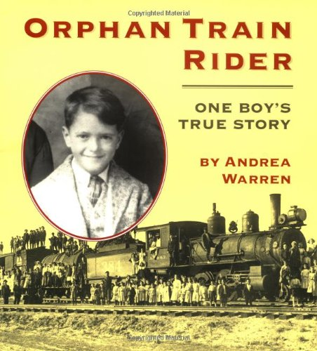 Orphan Train Rider One Boy's True Story  1998 edition cover