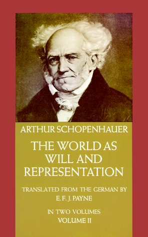 World as Will and Representation   1969 edition cover