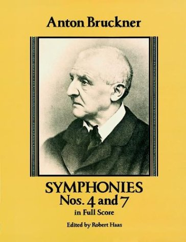 Symphonies Nos. 4 and 7 in Full Score  N/A edition cover