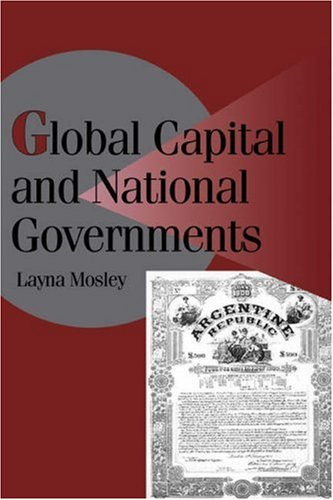 Global Capital and National Governments   2002 edition cover