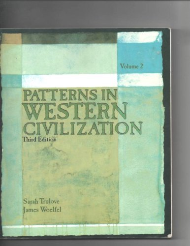 PATTERNS IN WEST.CIVIL.,VOL.2 N/A 9780536679628 Front Cover