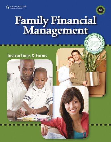 Family Financial Management  8th 2010 9780538448628 Front Cover
